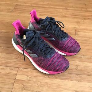 Adidas Solar Glide Carbon/Grey/Real Magenta Women